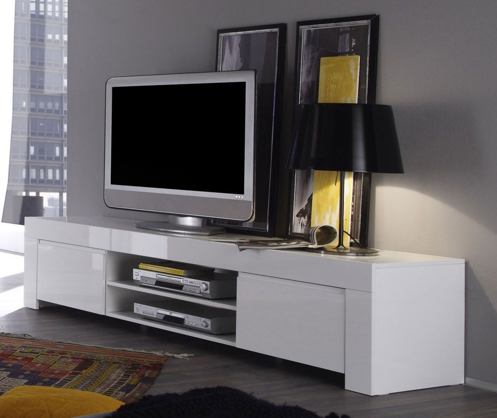 Design Hoogglans Tv Meubel.Tvmeubel Tvmeubels Hoogglans Hoogglans Tv Meubel Wit